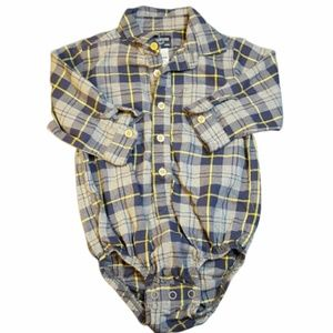 Oshkosh Plaid Bodysuit BOGO FREE